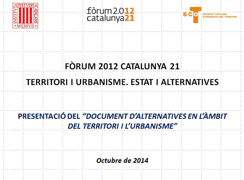 Document d'alternatives Fòrum
